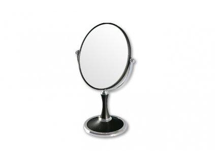 TopChoice Zväčšovacie zrkadlo okrúhle 85659 čierne