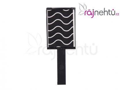 Magnet na zdobenie nechtov - efekt vlnky