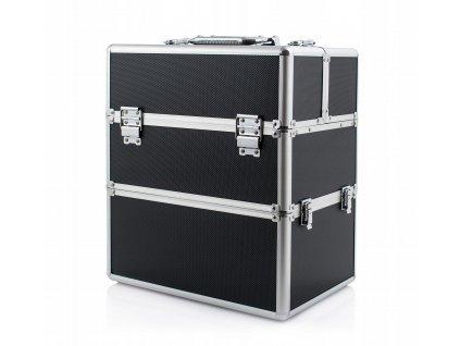 Kosmetický kufřík SENSE 2v1 - černý
