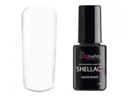 UV gel lak Shellac Me 12ml - Snow White