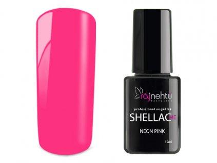 UV gel lak Shellac Me 12ml - Neon Pink