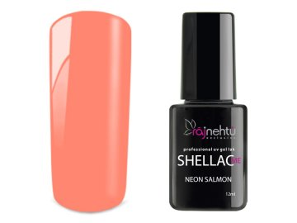 UV gel lak Shellac Me 12ml - Neon Salmon