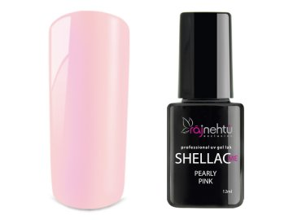 UV gel lak Shellac Me 12ml - Pearly Pink