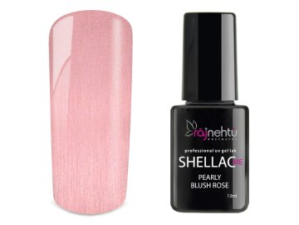 UV gel lak Shellac Me 12ml - Pearly Blush Rose