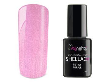 UV gel lak Shellac Me 12ml - Pearly Purple