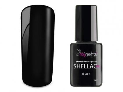UV gel lak Shellac Me 12ml - Black