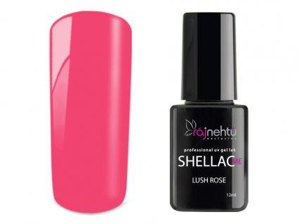 UV gel lak Shellac Me 12ml - Lush Rose