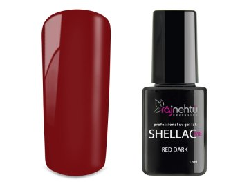 UV gel lak Shellac Me 12ml - Red Dark