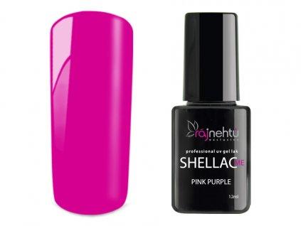 UV gel lak Shellac Me 12ml - Pink Purple