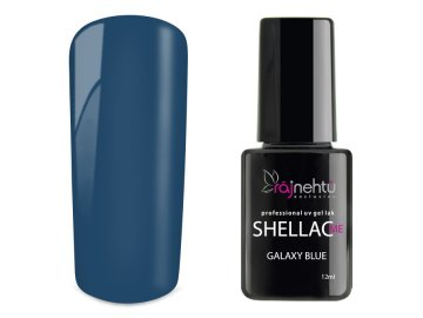 UV gel lak Shellac Me 12ml - Galaxy Blue