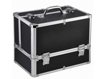 Kosmetický kufr LUXURY - XL, černý