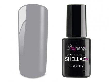 UV gel lak Shellac Me 12ml - Silver Grey