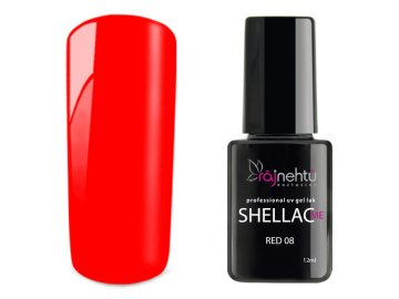 UV gel lak Shellac Me 12ml - Red 08
