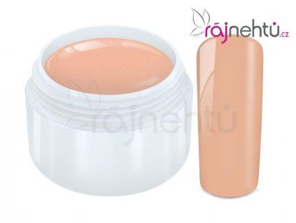 Ráj nehtů Barevný UV gel PASTEL - Peach 5ml