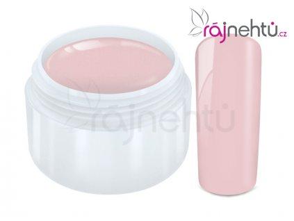 Ráj nehtů Barevný UV gel PASTEL - Rose 5ml