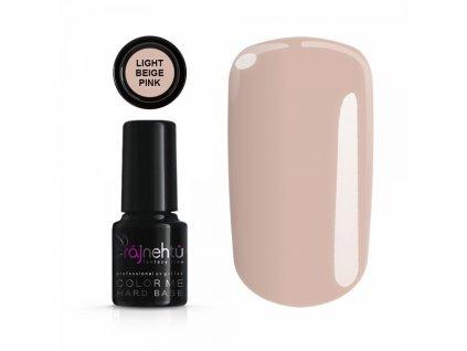 UV gel lak Color Me 6g - Hard Base Light Beige Pink