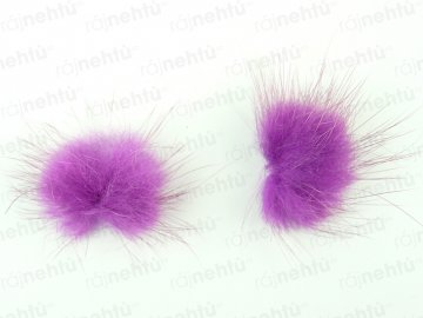 Brmbolčeky 2 ks - fialové