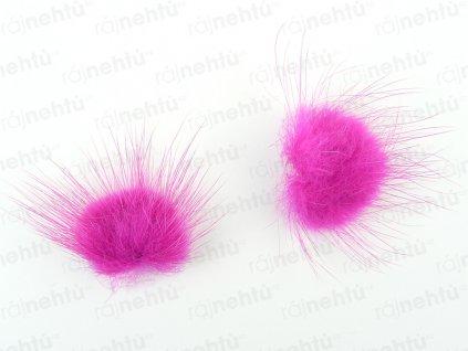 Brmbolčeky 2 ks - pink