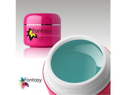 Farebný UV gél Fantasy Neon 5g - Blue
