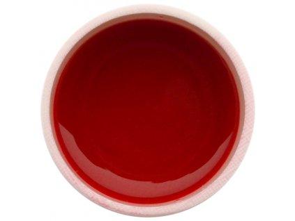 Farebný UV gél GABRA 7,5 ml - farebný malinovo červený