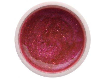 Farebný UV gél GABRA 7,5 ml - glitter ružový