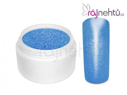 Farebný UV gél GLIMMER - Neon Blue - 5ml