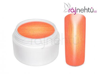 Farebný UV gél GOLDEN - Fire Red - 5ml