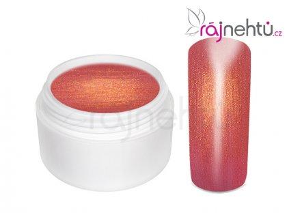Farebný UV gél GOLDEN - Red - 5ml