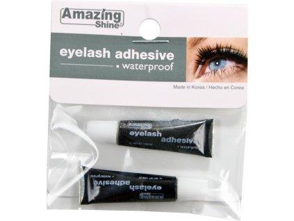 EYELASH ADHESIVE BLACK - lepidlo na riasy, čierne 2x1g