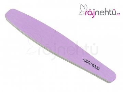 Leštiaci pilník fialovo-biely 1000/4000