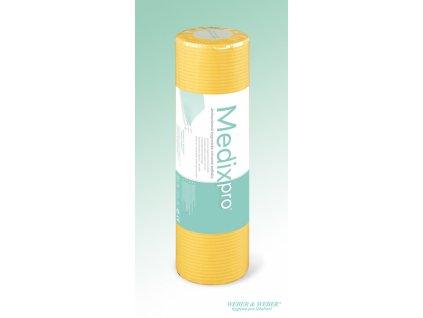 MedixPro utierky 38x50cm, rola 80ks  - žlté