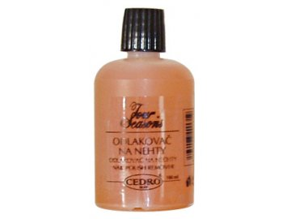 Odlakovač na nechty 100 ml - oranžový