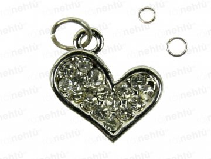 Ozdoba nechtov - Piercing srdce