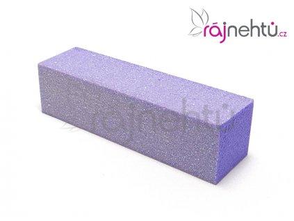 Pilník blok farebný - fialový