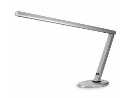 Stolná lampa kozmetická - strieborná