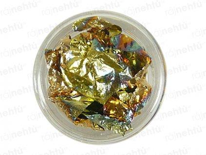 Zdobenie na nechty - fólia zlatá