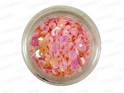 Zdobenie na nechty, kolieska (duté) CDčka - ružové