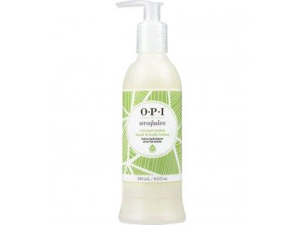 OPI - AVOJUICE krém na ruky - kokos a melón 250 ml