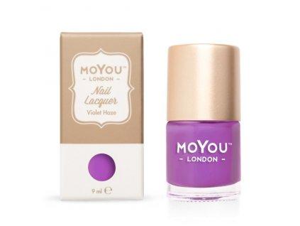 Pečiatkovací lak na nechty - Violet Haze 9 ml