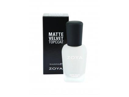Zoya Matte Velvet Top Coat 15ml