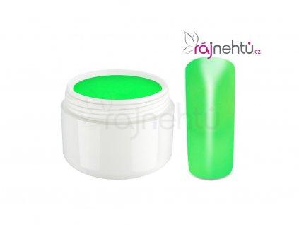 Raj nechtov Farebný UV gél NEON - Green - Zelený 5ml