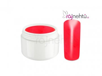 Raj nechtov Farebný UV gél NEON - Red - Červený 5ml