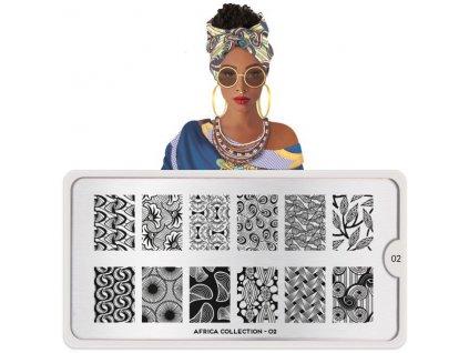 africa nail art design 02