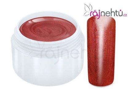 Raj nechtov Farebný UV gél METALLIC - Rubin 5ml