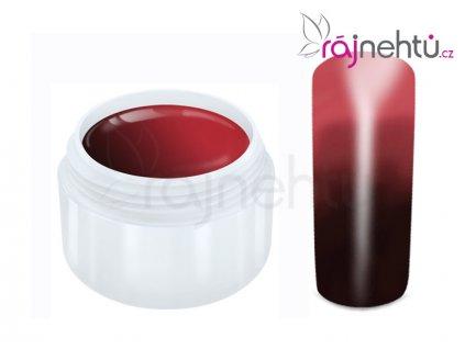 Raj nechtov - Farebný UV gél THERMO - brown/red - 5 ml