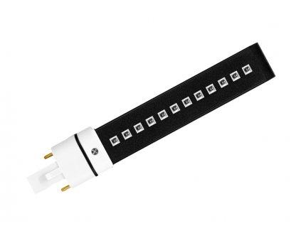 UV LED zarivka cerna 1ks noWM