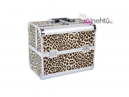 Kozmetický kufrík - leopard DELIGHT