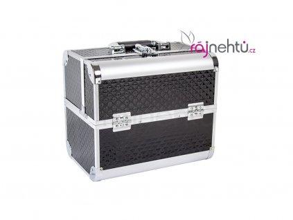 Kozmetický kufrík - čierny DELIGHT
