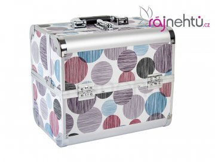 Kozmetický kufrík - kruhy DELIGHT