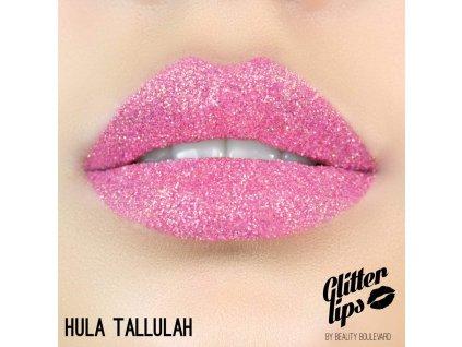 Glitter Lips, vodoodolné trblietky na pery - Hula Tallulah 3,5ml
